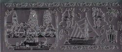 Starform sticker zilver kerst 968 (Locatie: HH154 )