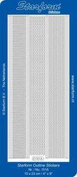 Starform stickervel d.blauw 1016 (Locatie: ZZ109 )