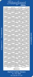 Starform Stickervel kerst zilver 8536 (Locatie: BB133)