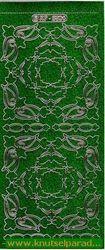 Stickervel holografisch d. groen XP6804 (Locatie: G233)