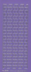 Stickervel paars/zilver nr. 3020 (Locatie: K143 )