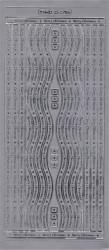 Stickervel zilver MD352705 (Locatie: zz111)