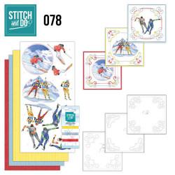 Stitch and Do 78 Wintersport STDO078