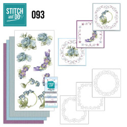 Stitch and Do 94 Winter bloemen STDO093