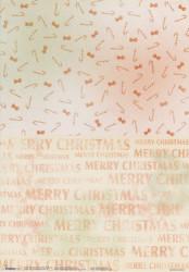 Studio Light decoratiepapier Merry Christmas BASISCHAR02 (Locatie: 1429)