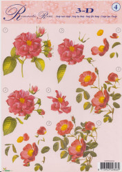 Studio Light knipvel bloemen STSAPROSES04 (Locatie: 0211)