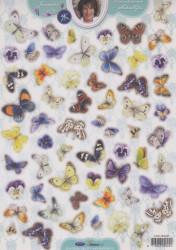 Studio Light stansvel vlinders Janneke Brinkman EASYJBS400 (Locatie: 2530)