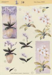 't Boekensteuntje knipvel witte planten 0030 (Locatie: 2409)