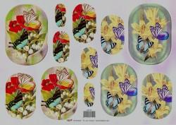 TBZ pyramide knipvel vlinders 202155 (Locatie: 4537)