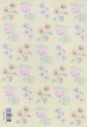 Vellum bloemen 8858T (Locatie: 2706)