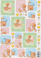 Voorbeeldkaarten knipvel geboorte 8696 (Locatie: 6024)