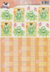 Voorbeeldkaarten knipvel opkikkertje 2342 (Locatie: 2770)