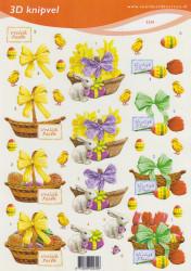 Voorbeeldkaarten knipvel pasen 2230 (Locatie: 6028)