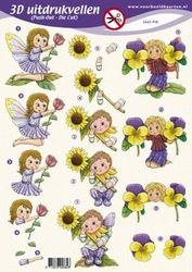 Voorbeeldkaarten stansvel kinderen 2662PO (Locatie: 6556)