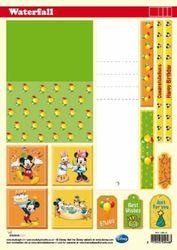 Walt Disney - Waterval Knipvellen A4 WTF DIS 01 (Locatie: 1739)
