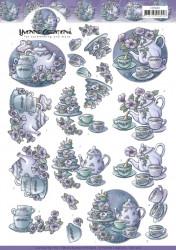Yvonne Creations knipvel thee CD11260 (Locatie: 1617)