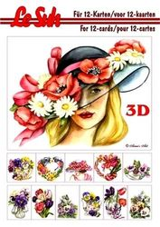 Le Suh boekje A5 Voorjaarsbloemen nr. 345655 (Locatie: 1RC5)