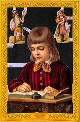 Poezieplaatje Schoolkindjes MLPA66 (Locatie: MP039)