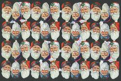Poezieplaatjes Kerstmannen MLP874 (Locatie: MP74)