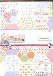DoCrafts Paperpack A4 Tilly Daydream TIL160101 (Locatie: 1RC7)
