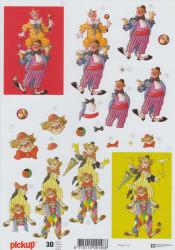 Pick Up knipvel clown 118 (Locatie: 1555)