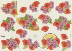 Wekon knipvel bloemen AW005 (Locatie: 0528)