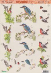 Studio Light knipvel vogels STR168 (Locatie: 1714)
