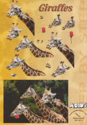 Adios knipvel giraffes SBS u1012 (Locatie: 1410)
