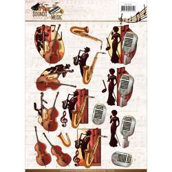 Amy Design knipvel jazzmuziek CD11062 (Locatie: 0344)