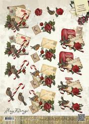 Amy Design knipvel kerstmis CD10425 (Locatie: 2925)