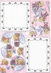 Anne Design knipvel/hobby dots BO83 (Locatie: 2918)