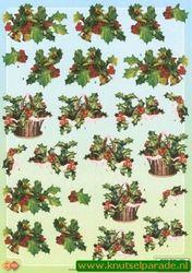 Card Deco knipvel kerst CD10089 (Locatie: 5738)