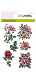 CraftEmotions clearstamps A6 - Botanical Rose Garden 2 130501/1241 (Locatie: NN016)