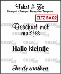 Crealies Clearstamp Baby 02 CLTZBA02 130505/1502 (Locatie: NN004)