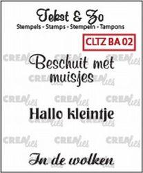 Crealies Clearstamp Baby 02 CLTZBA02 130505/1502 (Locatie: NN004)