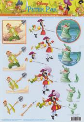Disney Peter Pan knipvel STAPP02 (Locatie: 2654)