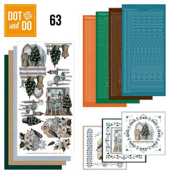 Dot and Do 63 Brocante Kerst DODO063