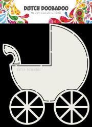 Dutch Doobadoo Card Art A5 stencil Buggy 470713714 (Locatie: 2723)