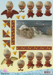 Helene Jolie knipvel kerst CD 10069 (Locatie: 1248)