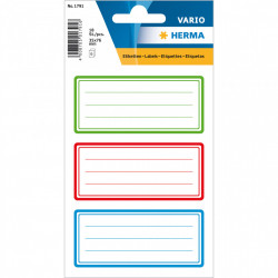 Herma stickers labels 6 vel 18 stickers 1791 (Locatie: HE030)