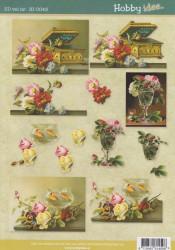 Hobby Idee knipvel bloemen HI 0043 (Locatie: 5706)