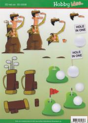 Hobby idee knipvel golf HI 0006 (Locatie: 2241)