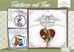 Hobbydols nr 206 Feliciteren met Flair
