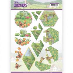 Jeanine's Art knipvel landschappen CD112924 (Locatie: 4339)
