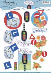 Jeanine's Art knipvel rijbewijs CD11053 (Locatie: 2663)
