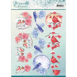 Jeanine's Art knipvel Winter Classics CD10968 (Locatie: 0604)