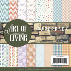 Jeanine's Art, Paperpack, 15.2 x 15.x cm, Art of Living, JAPP10007