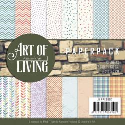 Jeanine's Art, Paperpack, 15.2 x 15.x cm, Art of Living, JAPP10007