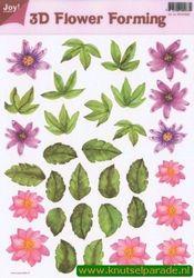 Joy Crafts 3D Flower forming transparant 6018 0002 (Locatie: 1565)