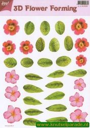 Joy Crafts 3D Flower forming transparant 6018 0007 (Locatie: 1559)